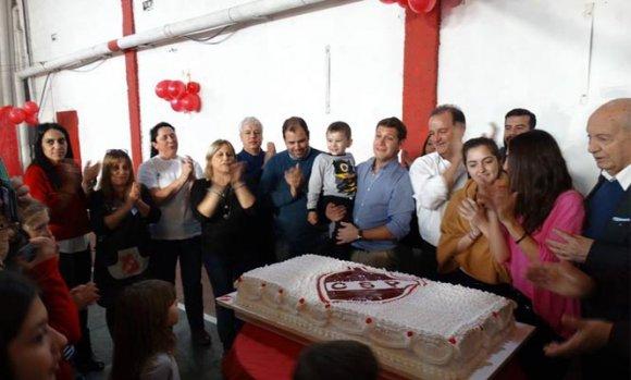 El Club Sportivo Pilar celebró su 86 aniversario con un concurrido almuerzo
